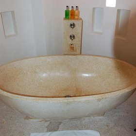 ... and some cottages also have a beautiful freestanding bath.