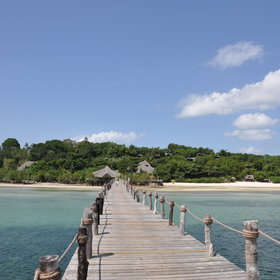 Fundu Lagoon is located in a remote corner of Pemba Island ...