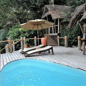 The Beach Suite and Jungle Suite both have private plunge pools...