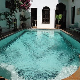Kholle House is one of the few hotels in Stone Town that has a swimming pool.