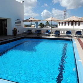 Maru Maru is currently the only hotel in Stone Town with a rooftop pool...