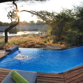 ... and great views over the waterhole...