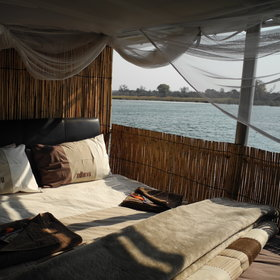 …which gives you a close-up experience with the Kavango river.