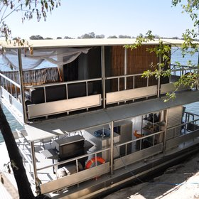 There is also a houseboat which is used for trips, generally of 1-3 nights, out on the river.