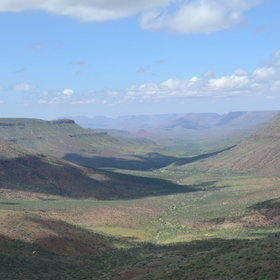 ...situated on Etendeka plateau.