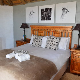 Grootberg has spacious double rooms…