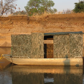 Some are specialist wildlife hides such as the carmine hide...