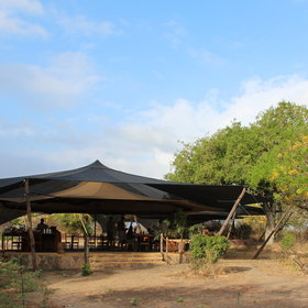 Roho ya Selous is a smart tented camp...