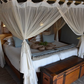 Inside are very comfortable double or twin beds...