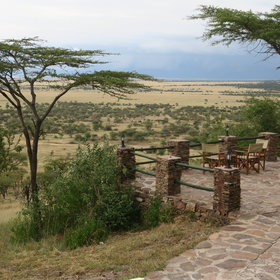 Serengeti Serena Safari Lodge has a beautiful location in the central Serengeti...