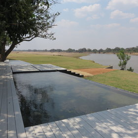 Located on 25 hectares of private land, overlooking the Luangwa River....