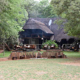 As the name suggests, Ivory Lodge is a great place to view large herds of elephant