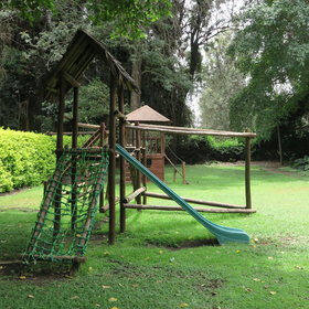 As you explore the grounds you will find a kids' playground.