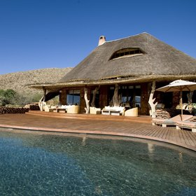The Motse at Tswalu Kalahari is a luxurious lodge.