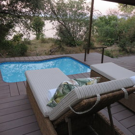 ...and the plunge pool is perfect in the late summer heat.