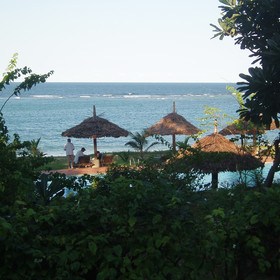 Amani Beach is a relaxed beach lodge that is great for families.