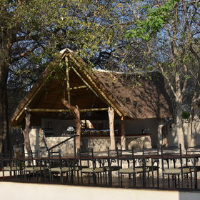 On the banks of its namesake river Thamalakane is located just outside of Maun.