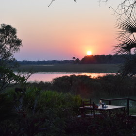 ...make it an ideal spot to relax before or after a safari.