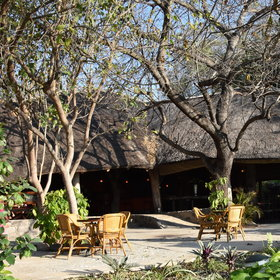 The Thamalakane restaurant caters for guests and locals alike...