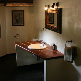 ...and all the luxury chalets have an en-suite bathroom...