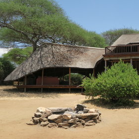 Oliver's Camp stands on a sandy ridge in the south-east of Tarangire National Park.