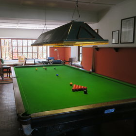 …and snooker.