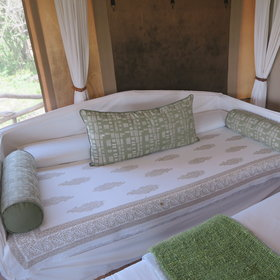 ... there is also the option of converting the day bed for a triple room.
