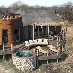 Puku Ridge has a fantastic location in the South Luangwa National Park