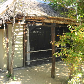 Vundu Camp is located on the banks of the Zambezi River in the Mana Pools National Park.