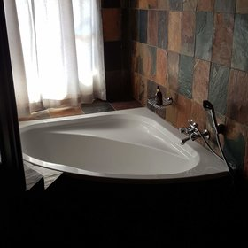 ...some of the rooms even have a bath complementing the usual ensuite shower.