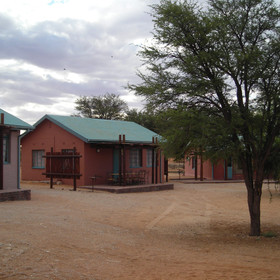 Mata Mata is the gateway to and from Namibia and is the smallest of the main restcamps