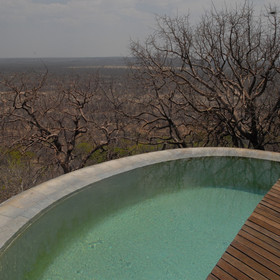 ...and a private plunge pool.