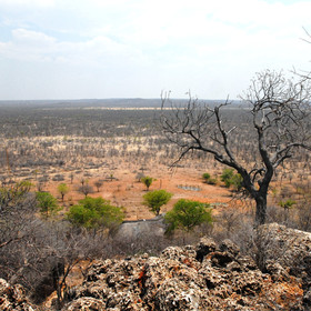 ...located on the Ongava Reserve, just outside Etosha National Park.