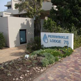 Periwinkle Lodge is located across the road from one of the best beaches on the Garden Route ...