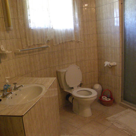 ...and an en-suite bathroom with shower.
