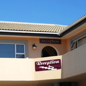 Sea Breeze Guesthouse is located just north of Swakopmund.