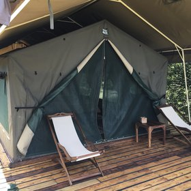 Selous Impala's tents are sturdy, traditional safari tents…