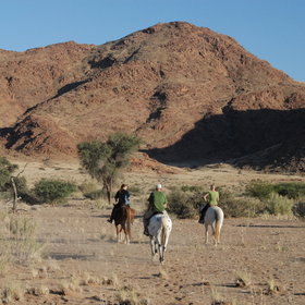 Riding holidays in Namibia